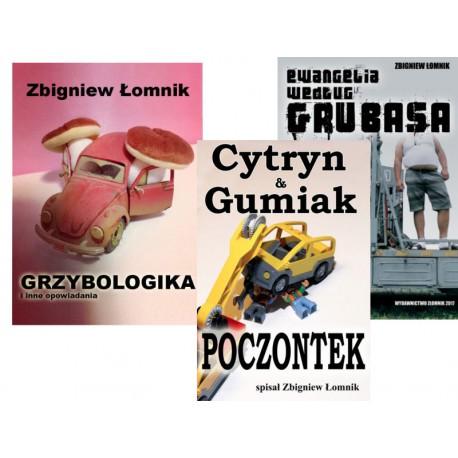 Paczka ebooków: Grzybologika, C&G: Poczontek, Ewangelia wg Grubasa